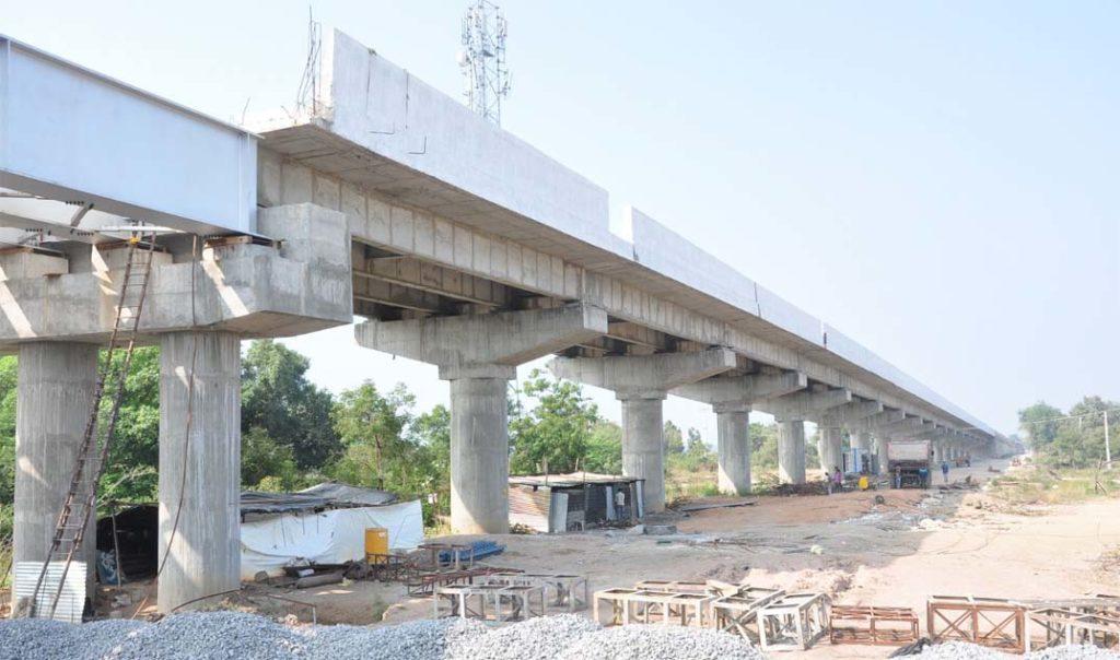 Construction of ROB on LC No.24, at Korepally, Karimnagar District, Telangana