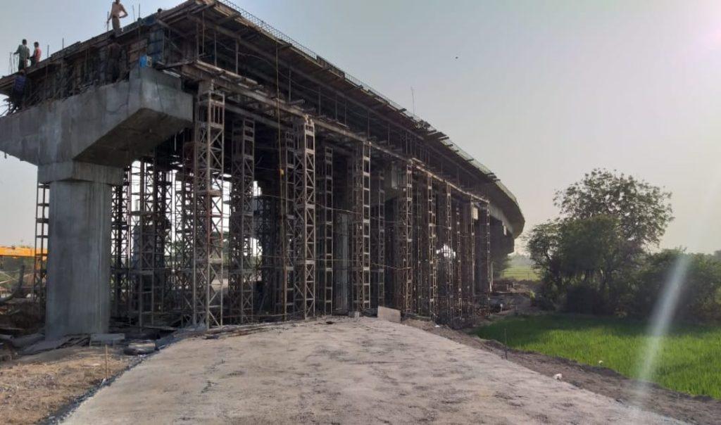 Construction of ROB between uppal-jammikunta railway station on kazipet-ballarsha section in warangal urban district, Telangana
